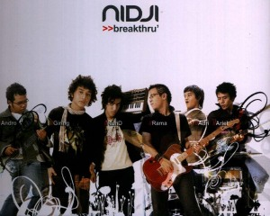Nidji album Breakthru'